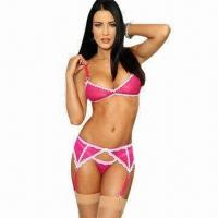 Quality Lustful Heart Sexy Underwear Set, Includes G-string for sale