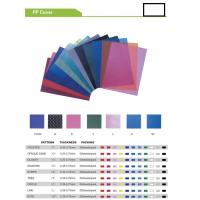 Buy cheap PP  BINDING COVER   PP  COVER from wholesalers