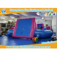 Quality Durable PVC Tarpaulin Inflatable Football Pitch / Inflatable Soccer Playground for sale