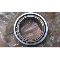 Buy Middle size single row angular contact ball bearing 7028BGM brass cage at wholesale prices