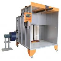 China Filter Manual Electrostatic Powder Painting Booth on sale