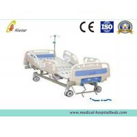 China ABS Handrail Medical Adjustable Hospital Beds Stainless Steel Handle (ALS-M243) on sale