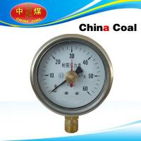 Double needle seismic pressure gauge for sale