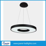 Quality 70W Panel LED Lights , Minimalism Round Matte Metal Led Pendant Lighting for sale
