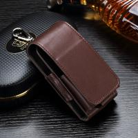 Quality Anti Scratch Leather Ecig Case Holder For IQOS Electronic Cigarette Pouch Bag for sale