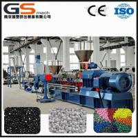 Buy PE cable Flame retarding masterbatch compounding extruder machine at wholesale prices