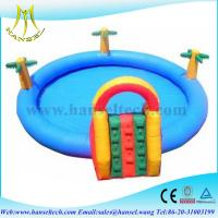 Quality Hansel Giant Inflatable Water Pool With Lower Price for sale