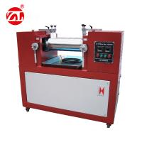 Water / Air cooling Lab Two Roll Mill , Rubber Testing Machine Polymer Mixing Available