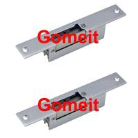 Quality Narrow Type 12 Volt Electric Door Strike For Metal Doors Long Life Aluminum Alloy for sale