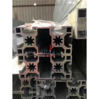 Quality 6063 T5 / T6 Structural Aluminum Profiles T Slot Square Hollow OEM 40 X 40 MM for sale