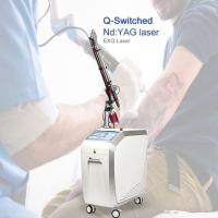 Quality Medical Clinical  Pigmentation Removal Machine Q Switch Nd Yag Laser Tatoo Removal Laser Machine for sale