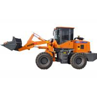 Quality Portable Tractor Front Wheel Loader 1600kg Rated Load Color Customized for sale