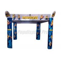 Quality Promotional Large Arched Display Standee Eye Catching For Minions Toys for sale