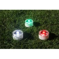 Quality Energy Efficiency Outdoor Solar Ground Lights 0.07W 60 Hours Working Hours for sale