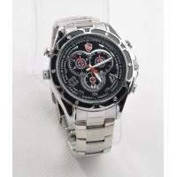 Quality Spy camera watch 1080P Stainless Steel with good features 4GB - 32GB Memory for sale