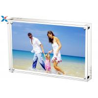 Buy 5*7'' Magnetic Acrylic Photo Frame Silk Screen Printing With Single / Double at wholesale prices