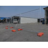 China Australian Standard Galvanized Temporary Fence, Fence Block, Fence Brace, Fence Stay, Clamp and Shade Cloth on sale