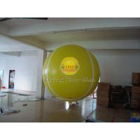 Quality Yellow Full Digital Printed Sport Tennis Ball Balloons with 170mm Tether Points for Party for sale