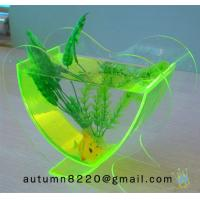 Quality FT (7)-2 Popular heart shaped acrylic fish tank for sale