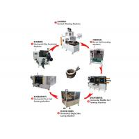 High Speed Stator Winding Machine Electrical Motor Assembly Line 12 Months Warranty for sale