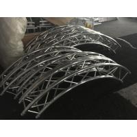 Quality Diameter Customized Circular Lighting Truss , Strong / Durable Curved Truss System for sale