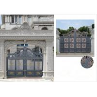 Buy Villa Aluminum Electric Garden Door Opening Type With Remote Control Motor Shaft 4.5m at wholesale prices