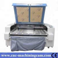 Quality ZK-1610-80W Cloth/Garment Laser Cutting Machine Double Head 1600*1000MM for sale