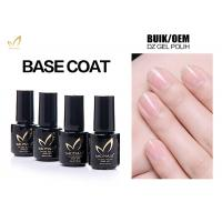 Quality No Smell No Toxic Free Samples High Glossy Transparet Soak Off UV Gel Base Coat for sale