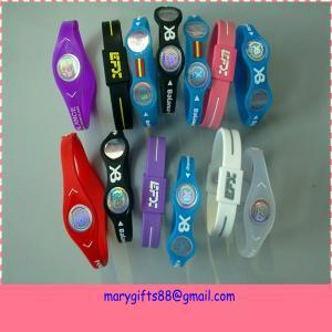 China Power Disc Energy Cheap Balance Power Silicone Bracelet on sale