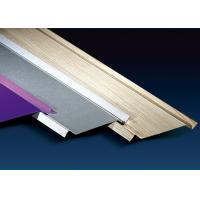 Quality 100mm Height Metal Ceiling Channel , Shops Aluminium Ceiling Tiles Sound Insulation for sale