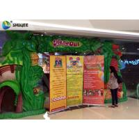 Quality Dinosaur Cabin 7d Simulator Cinema Pneumatic System 9 Seats With Dinosaur Poster for sale