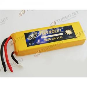 Quality Wholesale 14.8V 2500mAh 35C EC LiPo Li-Polymer Rechargeable RC Battery for sale