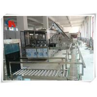 Quality Touch Screen Complete Bottled Water Production Lines 50 - 180 PCS/H With Water Treatment for sale