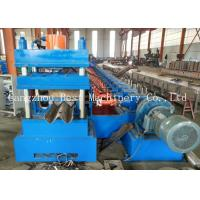 Quality Gear Box Driven W Beam Highway Guardrail Roll Forming Machine PLC Control for sale