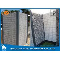 Quality Quick Building-Up Wire Cages For Stone Walls / Wire Mesh Gabions for sale