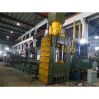 Quality PLC Control Hydraulic Metal Shear Cutter Machine With Operation Room for sale