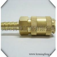 Quality European market universal type brass hose tail quick coupler for sale