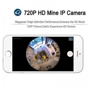 Buy EC5 720P Fisheye Panorama WIFI P2P IP Camera IR Night Vision CCTV DVR Wireless at wholesale prices