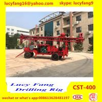 China Hot Track Mounted Mobile  CST-200 Water well Drilling Rig For 100-200 m Depth for sale