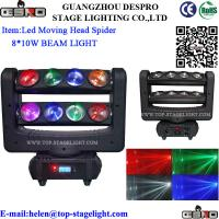 Quality 8*10W CREE LED Stage Moving Head Spider Light for sale
