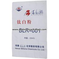 Quality Recyclable Multiwall Paper Bags White Kraft Paper Sacks for Titanium Pigment Packing for sale