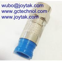 China F Compression Connector for RG59 Coaxial Cable indoor and outdoor CATV cable on sale