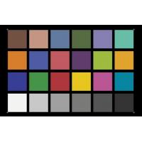 Quality YE0188 Color Rendition Resolution Test Chart ,  X - Rite Camera Lens Test Chart for sale