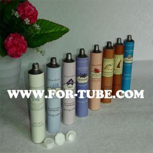 Quality Empty cosmetic aluminum tube for shavine cream for sale