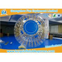 Quality One Entrance Inflatable Zorb Ball 0.7mm TPU With Zipper , Digital Printing for sale