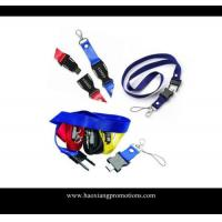 Buy Promotional company use cheap id card holder lanyard with logo at wholesale prices