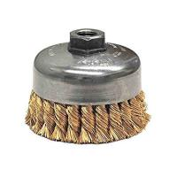 Quality Industry Rust Cleaning Twist Knot Wire Brush Steel / Metal Base Material for sale