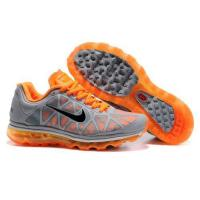Quality cheap Nike Air Max 2011, wholesale Nike Air Max 2011 mesh, Nike Air Max 2011 grey orange Shoes for sale