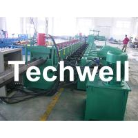 Quality 7 Rollers Leveling 10 - 12m/min W Beam Roll Forming Machine for Crash Barrier for sale
