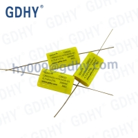 Quality 4.7uF 475nF Axial Metallized Polypropylene Film Capacitors 250VDC CBB20 for sale